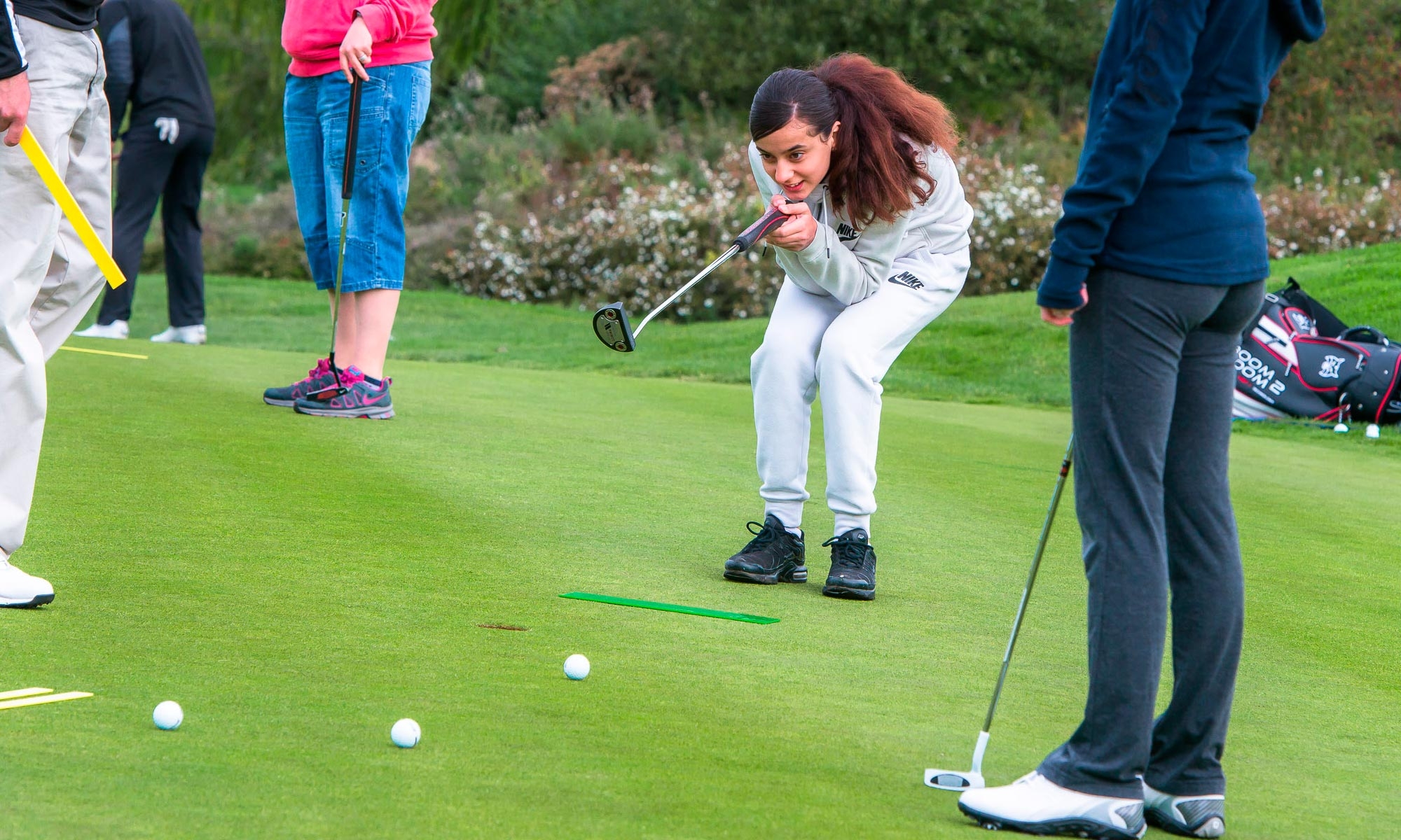Putting green at The Shire London