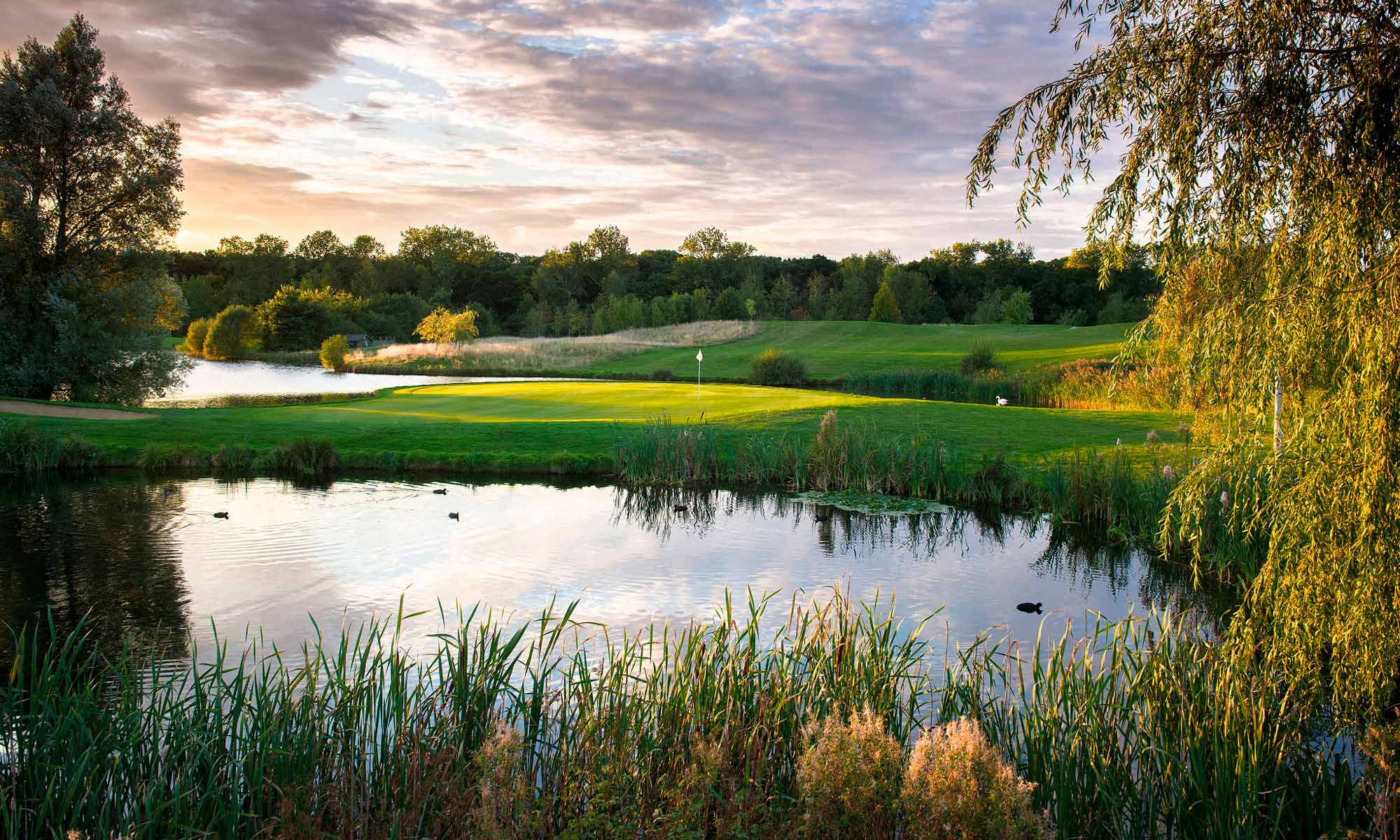 View of the golf course at The Shire London