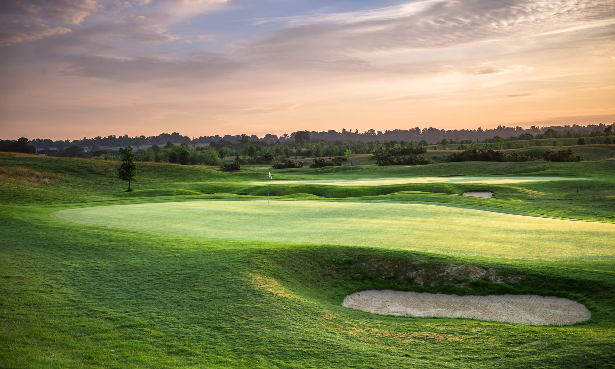 18 hole golf course at The Shire London
