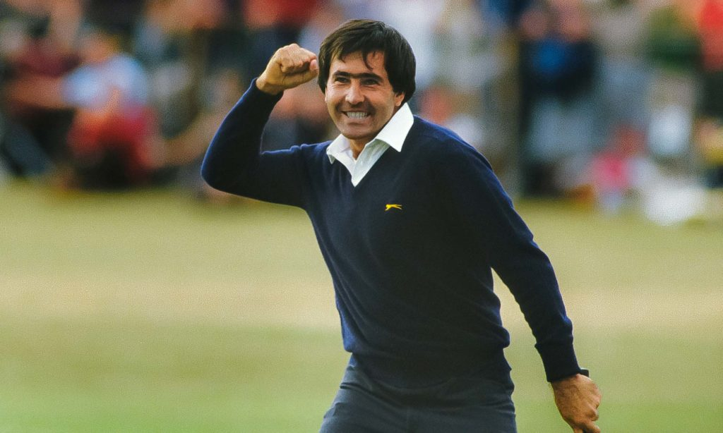 Seve Ballesteros winning The Masters
