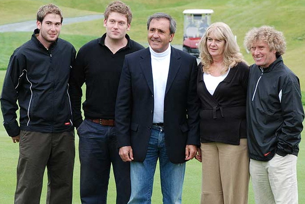 The Menai-Davis family and Seve Ballesteros